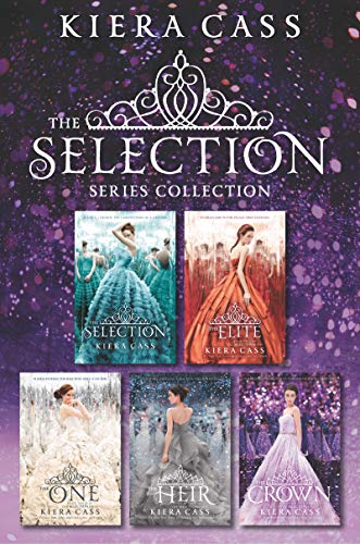 Amazon Com The Selection Series 5 Book Collection The Selection The Elite The One The Heir The Crown Ebook Cass Kiera Kindle Store