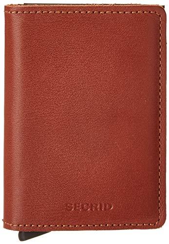 Secrid Original Slimwallet portemonnee met RFID-bescherming 6.8 cm Cognac Brown