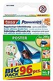 tesa Powerstrips POSTER Big Pack - Doppelseitige K