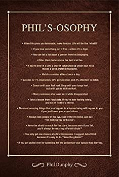 Modern Family Poster – Cool TV Props Family Posters Inspired by Phils Osophy Book Modern Family Merchandise – Modern Family Life Lessons From Dad – Cool College Posters from Loving Family Dad Phil