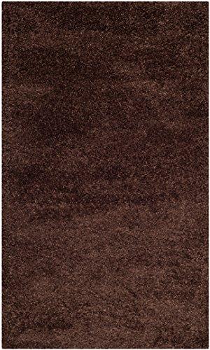 SAFAVIEH Milan Shag Collection SG180 Solid Non-Shedding Living...