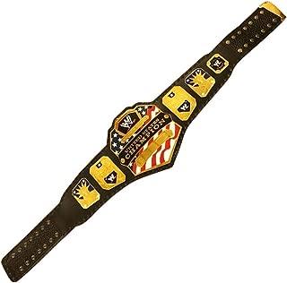 WWE United States Championship Belt Adult Replica Gold Metal Plates Brand New