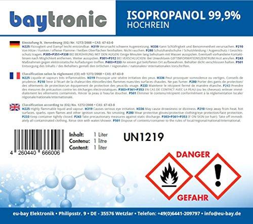 Baytronic Isopropanol Isopropylalkohol IPA Erfahrungen & Preisvergleich