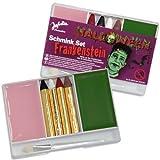 schmink Juego de Frankenstein, de jofrika, maquillaje, abschminke y pincel