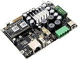 Up2Stream Amp 2.0 | Circuito PCB modulo amplificatore audio WiFi e Bluetooth | Per progetti fai da te | Converte altoparlanti wireless | Analogico di sincronizzazione multi-room Airplay DLNA-Arylic