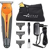 ALTÉAX Zero Cut - Tondeuse à cheveux professionnelle pour homme, tondeuse à barbe + Pochette ALTÉAX - Rechargeable avec batterie au lithium + Accessoires