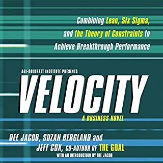 Velocity audiobook cover art