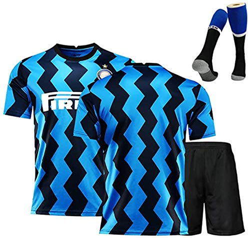 Camiseta de fútbol para hombres 9 # Icardi 14 # Lautaro10 # Nainggolan Football Sportswear 2020-2021 Camiseta Four Seasons Shorts deportivos Calcetines de fútbol Conjunto de equipos de entrenamiento
