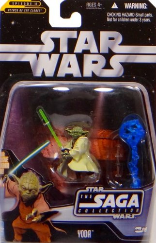 Hasbro Yoda Battle of Geonosis TSC019 - Star Wars The Saga Collection 2006