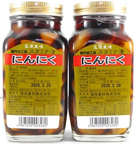高原風味 国内加工品 スタミナ漬 にんにく ×2本
