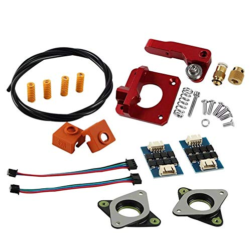 3D Printer Accessories 3D Printer 1x Upgraded Long-Distance Remote Metal Extruder&1x 1m PETG Tube & 4x Leveling Spring & 2x Heating Block Silicone Cover&2x Stepper Motor Shock Absorber & 2x TL-Smoothe