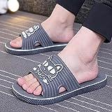ypyrhh Sandalias Cómodo Casual Zapatos de Playa,Zapatillas Antideslizantes de tamaño Grande, Fondo Suave-Hombre_42-43,Chanclas Suaves y cómodas para Hombre