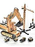 FFXZL Juegos de juguetes para camiones Construcción Vehículos de transporte de carga Juego de juegos Grúa de pórtico Registro y recogida Camiones de remolque Grúa Carretilla elevadora Niño Niña Regalo