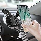 Migimi Support Téléphone Voiture Universel, Support Voiture Réglable pour iPhone X/8/7/6s/6/SE,...