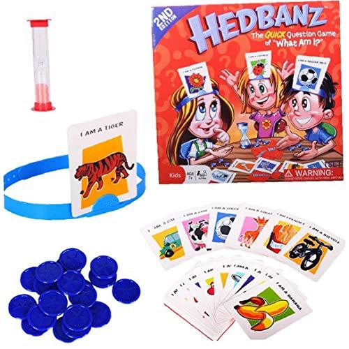 1 Pc Hedbanz gioco indovinare chi sono io gioco da tavolo del gioco della famiglia giocattolo Disney carattere gioco di carte