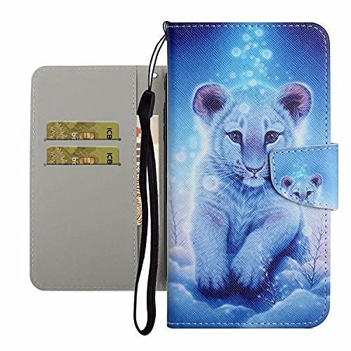 TYWZ Leuke Case voor Samsung Galaxy A22 4G, PU Lederen Cover voor Meisjes Vrouwen Kleurrijke Ontwerp Portemonnee Stand…