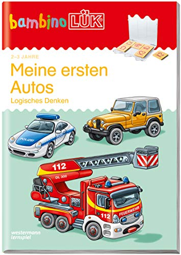 bambinoLÜK-Übungshefte: bambinoLÜK: 2/3 Jahre: Meine ersten Autos