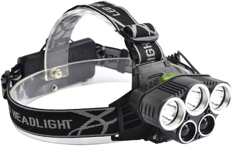 LAIABOR Super Bright Scheinwerfer USB T6 Glare Ladungsscheinwerfer Nachtfischerei T6LTS super Scheinwerfer 5 Scheinwerfer B07NMGZ8KX  Fein wild