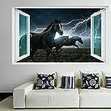 Pferd Gewitter Wandkunst Aufkleber Wandtattoo Vinyl Poster