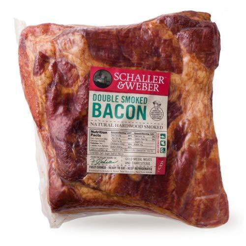 Double Smoked Bacon Slab by Schaller & Weber (11 ounce)