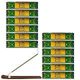 Natural Patchouli–Varillas de incienso de Satya Nag Champa–Pack de 15G x 12cajas–180g total