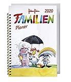 Helme Heine Familienplaner Buch A6. Taschenkalender 2020. Wochenkalendarium. Spiralbindung. Format 11,6 x 16,3 cm
