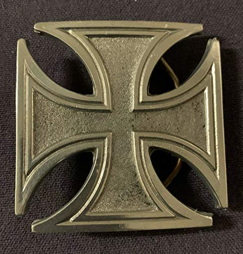 Stylish Design and Reliability Iron Cross Belt Buckle Maltese Style Celtic Buckles (Has Unique Design and Performance)