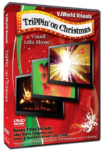 VJWorld Visuals - Trippin' on Christmas - Toy Piano and Violin - DVD