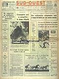 SUD OUEST [No 6977] du 30/01/1967 - LE PROGRAMME PARLEMENTAIRE DU CENTRE DEMOCRATE -...