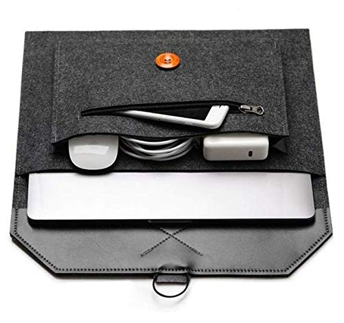Filztasche für Chuwi UBook Pro 12.3 / Ubook 11.6 / Acer Chromebook R 11 / Teclast M16 / Lenovo Chromebook C330 2-in-1 11.6 / 2019 Lenovo 29,5 cm (11,6 Zoll) (schwarz)