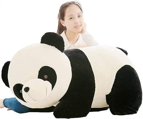 comprar mejor Giant Panda Toy Dormitorio de los Niños Niños Niños Osito de Peluche Niños Adultos Panda Almohada Regaños de cumpleaños de Niño y niña Novia (Color   blanco, Talla   100cm)  selección larga