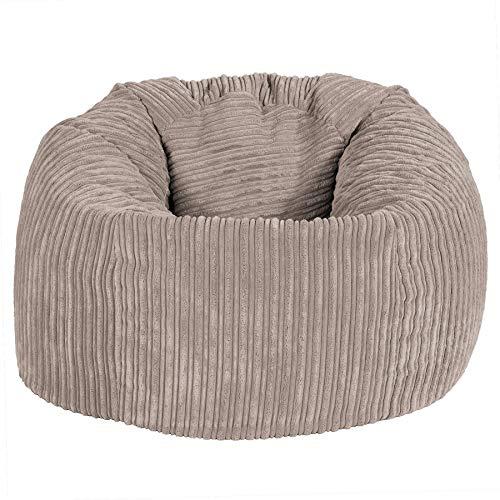 Lounge Pug®, Pouf Poire Classique, Côtelé - Vison