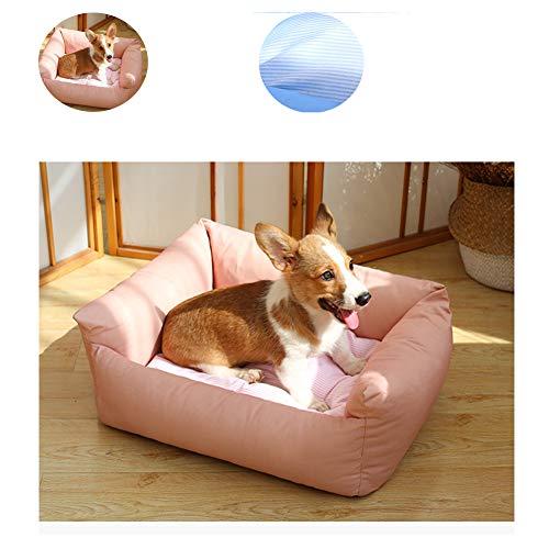 FRDF Slaapbank van katoen, ademend, anti-slip dog nest, warme veren van Dell', comfortabel, voor de slaap