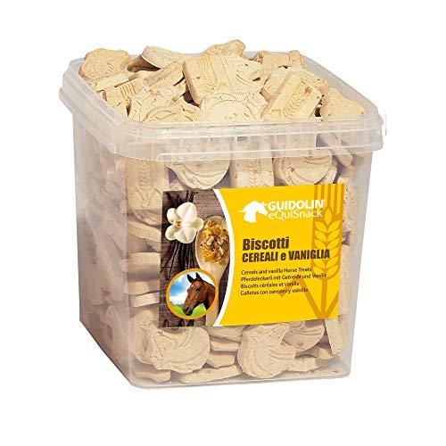 EQUISNACK Biscotti Vaniglia e Cereali 2.5 kg - 1 Secchiello