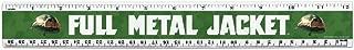 Full Metal Jacket Born to Kill 12 Inch Standard and Metric Plastic Ruler