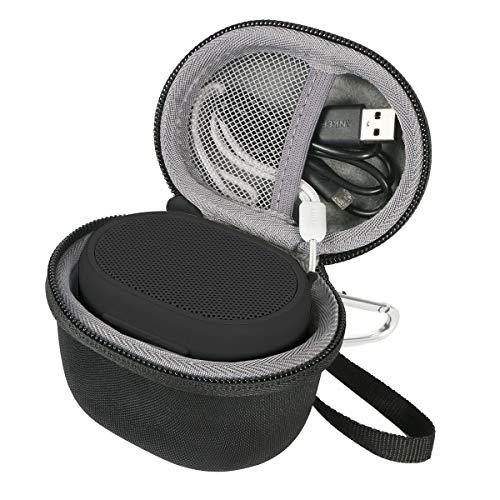 co2crea Hard Travel Case for Sony XB01 Bluetooth Compact Portable Speaker (Black)