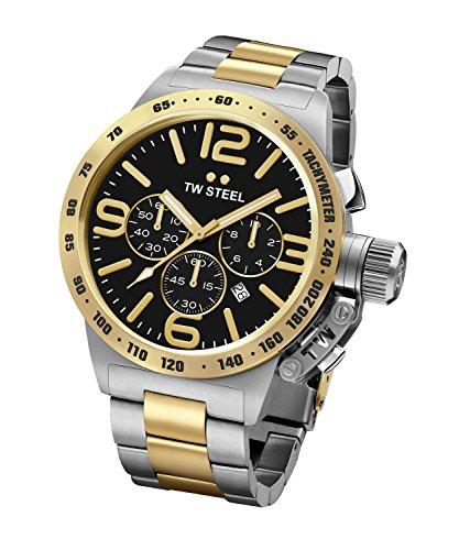 TW Steel Orologio Cronografo Quarzo Unisex con Cinturino in Acciaio Inossidabile CB44