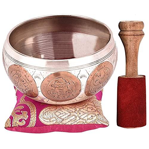 Tibetan Singing Bowl Set - Meditation Singing Bowls...