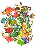 SET PRODUCTS  Top Pegatinas! Juego de 50 Pegatinas de Dinosaurios Vinilos - No Vulgares - Dinosaurio, Raptor, T-Rex, Triceratops - Personalización Portátil, Motocicleta, Bicicleta, Moto.