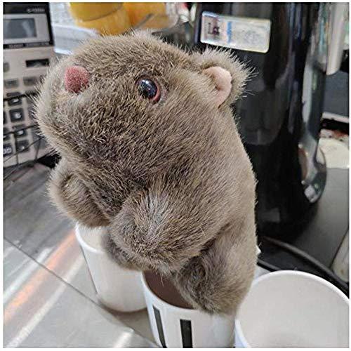 iddiaochan Nette Gefüllte Meerschweinchen Spielzeug Schöne Plüsch Hamster Spielzeug Kinder S Tag Geschenk Kinder Puppe Mädchen Geschenk Kinder S Kreative Stofftiere 28 cm