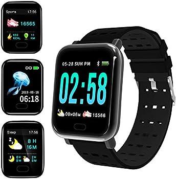 GoldUpUSAInc Waterproof Fitness Tracker Smartwatch