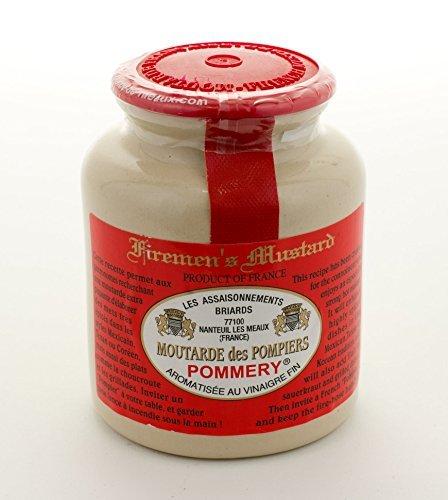 Französisch senffarben, Pommery Firemans senffarben, ein heißes klassisch Französisch senffarben - 250g