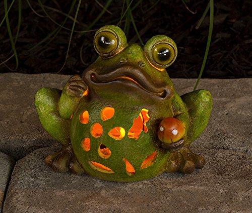 Adorable Frog Solar Powered Light