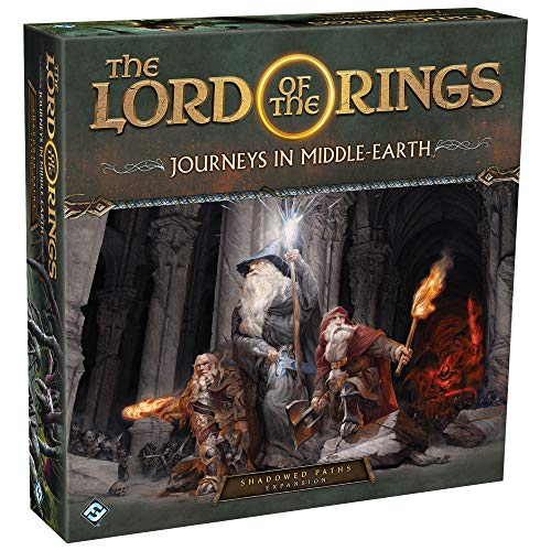 FFG The Lord of The Rings: Journeys in Middle-Earth Shadowed Paths Expansion - English
