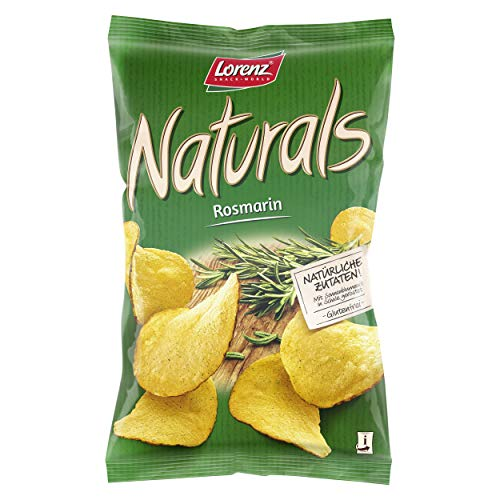 Lorenz Snack World Naturals Rosmarin, 12er Pack (12 x 95 g)
