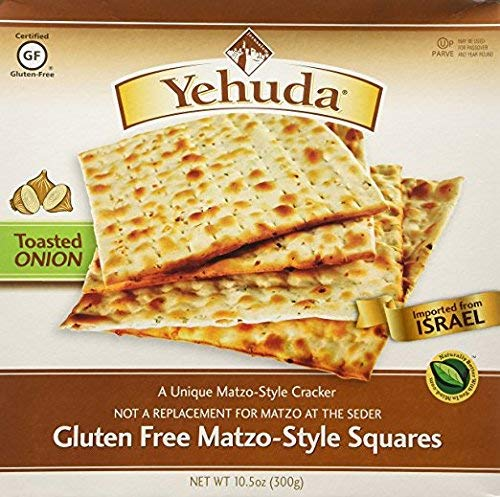 Yehuda Gluten Free Matzo Style Squires Kosher For Passover 10.5 oz. Pack of 6