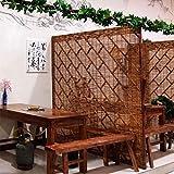 Persianas Verticales Naturales persianas de bambú persianas enrollables de Interior y Exterior Retro Cortina de Ducha Impermeable terraza partición decoración de la Pared Fiesta Villa