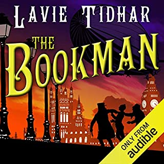 The Bookman audiobook cover art