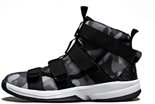 Couple high-top Sneakers Winter wear-Resistant Boots FENGDONG Camo Basketball Shoes