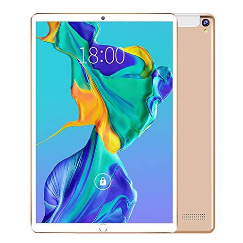 CYY 10 pulgadasTablet Táctil,Tableta Portátiles Android 8.1,Procesador de Cuatro núcleos, 2 GB RAM + 32 GB ROM,Cámara Dual,4G LTE,WiFi Bluetooth GPS,Pantalla 10.1' Full HD